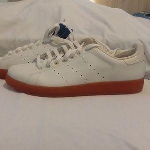 Adidas Stan Smith 2 Orange/White Mens 12